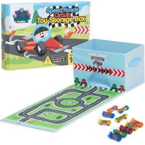 toy car storage case